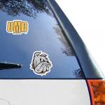 "Fanatics Minnesota Duluth Bulldogs WinCraft 2-Pack 4"" x 4"" Decals"