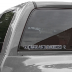 Fanatics Oakland Raiders 2'' x 19'' Color Letters Die-Cut Decal