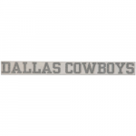 "Fanatics Dallas Cowboys 2"" x 19"" Glitter Strip Decal - Silver"