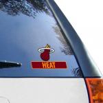 "Fanatics Miami Heat WinCraft 4"" x 5"" Perfect Cut Decal"