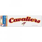 "Fanatics Cleveland Cavaliers WinCraft 3"" x 10"" Script Perfect Cut Decal"