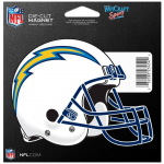 Fanatics Los Angeles Chargers WinCraft 4O Die Cut Car Magnet