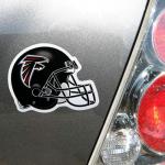 "Fanatics Atlanta Falcons WinCraft 4"" Die Cut Helmet Car Magnet"