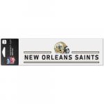 "Fanatics New Orleans Saints WinCraft 3"" x 10"" Helmet Perfect Cut Decal"