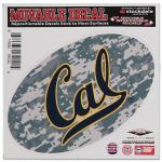 "Fanatics Cal Bears 6"" x 6"" Digital Camo Oval Repositionable Decal"