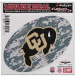 "Fanatics Colorado Buffaloes 6"" x 6"" Digital Camo Oval Repositionable Decal"