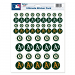 Fanatics Oakland Athletics 8.5'' x 11'' Sticker Sheet