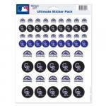 Fanatics Colorado Rockies 8.5'' x 11'' Sticker Sheet