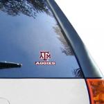 "Fanatics Texas A&M Aggies WinCraft 4"" x 5"" Perfect Cut Decal-"