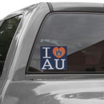 Fanatics Auburn Tigers 5'' x 6'' I Heart AU Decal