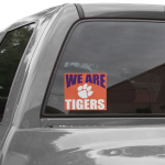 Fanatics Clemson Tigers 5'' x 6'' We Are Tigers Decal