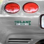 Fanatics Tulane Green Wave Mom Car Decal