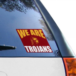 Fanatics USC Trojans 5'' x 6'' We Are Trojans Decal