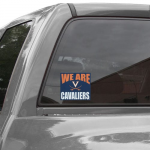 Fanatics Virginia Cavaliers 5'' x 6'' We Are Cavaliers Decal