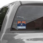 Fanatics Virginia Cavaliers 5'' x 6'' We Are Cavaliers Decal