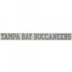 "Fanatics Tampa Bay Buccaneers 2"" x 19"" Glitter Strip Decal - Silver"