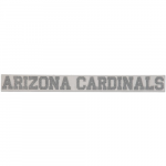 "Fanatics Arizona Cardinals 2"" x 19"" Glitter Strip Decal - Silver"