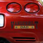 Fanatics Vanderbilt Commodores Dad Automobile Decal