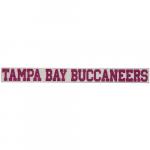 "Fanatics Tampa Bay Buccaneers 2"" x 19"" Glitter Strip Decal - Pink"