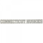 "Fanatics UConn Huskies 2"" x 19"" Silver Glitter Strip Decal"