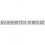 "Fanatics Washington Huskies 2"" x 19"" Silver Glitter Strip Decal"