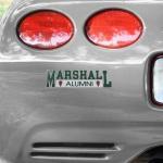 Fanatics Marshall Thundering Herd Alumni Car Decal