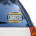 Fanatics Los Angeles Chargers 6'' x 6'' Vintage Die-Cut Repositionable Vinyl Decal