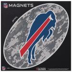 "Fanatics Buffalo Bills 6"" x 6"" Digi Camo Oval Car Magnet"