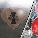 Fanatics Idaho Vandals Heart Car Magnet