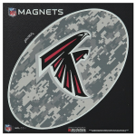 "Fanatics Atlanta Falcons 6"" x 6"" Digi Camo Oval Car Magnet"