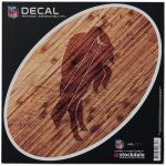 "Fanatics Buffalo Bills 6"" x 6"" Wood Oval Repositionable Decal"
