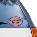 "Fanatics Illinois Fighting Illini 5"" x 7"" Mega Decal"