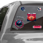 Fanatics Houston Texans WinCraft Prismatic 11'' x 4'' Decal Sheet