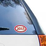Fanatics Maryland Terrapins Class of 2015 Oval Decal