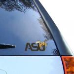 "Fanatics Alabama State Hornets 4"" Team Logo Car Decal"