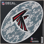 "Fanatics Atlanta Falcons 6"" x 6"" Digi Camo Oval Repositionable Decal"