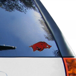 "Fanatics Arkansas Razorbacks 6.5"" x 3"" Logo Decal"