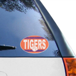 Fanatics Clemson Tigers 6'' x 6'' Vintage Die-Cut Repositionable Vinyl Decal