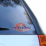 "Fanatics Pepperdine Waves 3"" x 5"" Team Logo Car Decal"