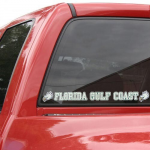 Fanatics Florida Gulf Coast Eagles Automobile Decal Strip