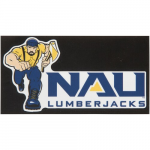 "Fanatics Northern Arizona Lumberjacks 6.5"" x 3.5"" New Logo Decal"