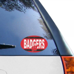 Fanatics Wisconsin Badgers 6'' x 6'' Vintage Die-Cut Repositionable Vinyl Decal