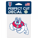 Fanatics Fresno State Bulldogs WinCraft 4'' x 4'' Color Perfect Cut Decal