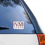Fanatics New Mexico State Aggies WinCraft 4'' x 4'' Color Perfect Cut Decal