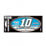 "Fanatics Danica Patrick WinCraft 3"" x 7"" Chrome Decal"