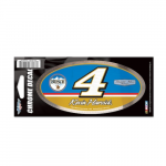 "Fanatics Kevin Harvick WinCraft 3"" x 7"" Chrome Decal"