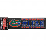 "Fanatics Florida Gators 3"" x 10"" #1 Fan Die Cut Decal"