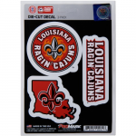 Fanatics Louisiana-Lafayette Ragin Cajuns 3-Pack Team Decals