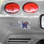 "Fanatics Memphis Tigers 4"" x 10"" Photo Bumper Sticker"