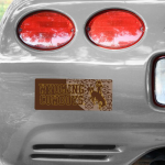 "Fanatics Wyoming Cowboys 4"" x 10"" Photo Bumper Sticker"